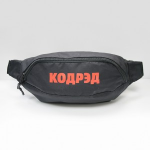 Сумка CodeRed Hip-Bag Large Black/Red
