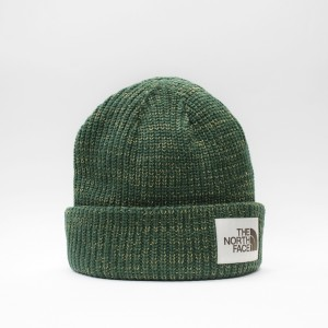 Шапка TNF Salty Dog Beanie Night Green/British Khaki (T93FJWEN5)