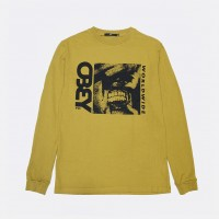 Лонгслив Obey Pulling Teeth Dusty Golden Palm (166732085)