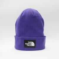 Шапка TNF Dock Worker Beanie Hero Purple/Tnf Black (T93FNTVOG)