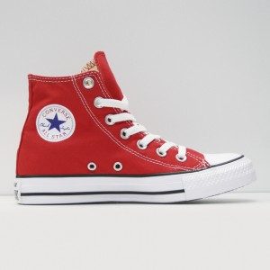 Кеды Converse All Star Chuck Taylor Hi Red (M9621)