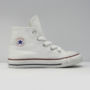 Кеды Converse All Star Chuck Taylor Hi Kids Optical White (7J253C)