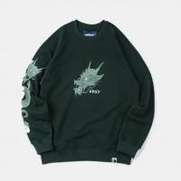 Толстовка Outcast Green Dragon