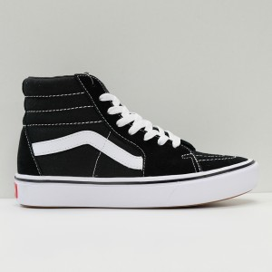 Кеды Vans Sk8-Hi ComfyCush Black/True White (VA3WMBVNE)