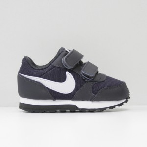Кроссовки Nike MD Runner Oil Grey/White/Black (806255-014)