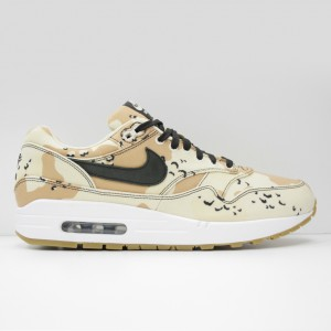 Кроссовки Nike Air Max 1 Premium Beach/Black/Praline/Light Cream (875844-204)