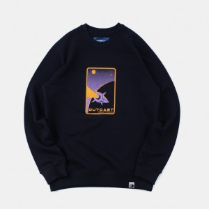 Толстовка Outcast Space Dark Navy