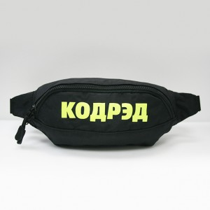 Сумка CodeRed Hip-Bag Black/Yellow