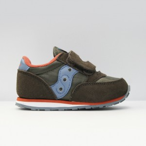 Кроссовки Saucony Baby Jazz HL Brown/Blue (ST51690)