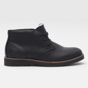 Ботинки Jack Porter Russian Chukka Black Leather