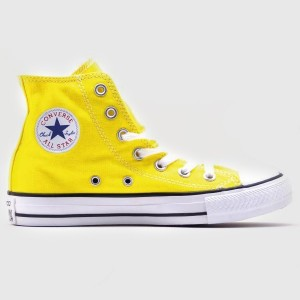 Кеды Converse All Star Chuck Taylor Hi Yellow (147125)